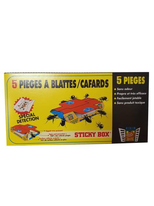 Pièges à blattes/cafards STICKY BOX
